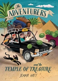 The Adventurers and the Temple of Treasure by Jemma Hatt